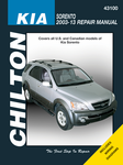 Kia Sorento Chilton Repair Manual (2003-2013)