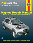 Kia Sorento Haynes Repair Manual (2003-2013)