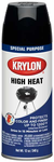 Krylon High Heat Black Spray Paint (12 oz.)
