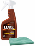 Lexol Leather Conditioner Spray (16.9 oz.) & Microfiber Cloth Kit
