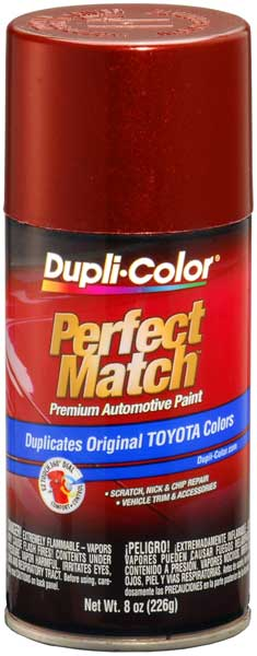 Lexus/Toyota Vintage Red Pearl Auto Spray Paint - 3N6 1999-2003