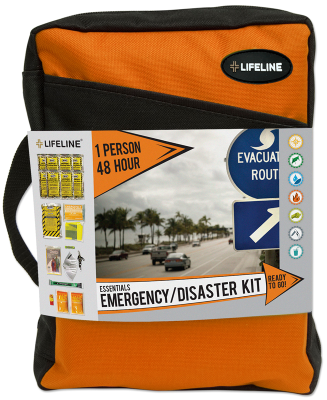 Lifeline One Person 48 Hour Essential Emergency & Disaster Kit