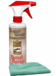 Liquid Glass Detail Spray (16 oz.) & Microfiber Cloth Kit