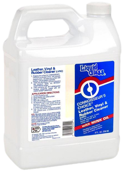 Liquid Glass Leather Vinyl & Rubber Cleaner Gallon
