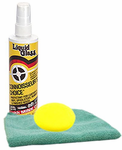Liquid Glass Leather, Vinyl & Rubber Protectant (8 oz.), Microfiber Cloth & Foam Pad Kit