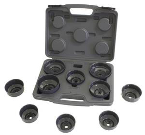 Lisle 10 Pc. Heavy Duty Cap Filter Wrench Set