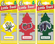Little Tree Air Fresheners (6 Pack)