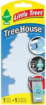 Little Trees Bayside Breeze Air Freshener & Clear Air Freshener Holder