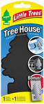 Little Trees Pure Steel Air Freshener & Black Air Freshener Holder