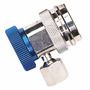 Low Side Coupler, Blue, For Automotive R-134A