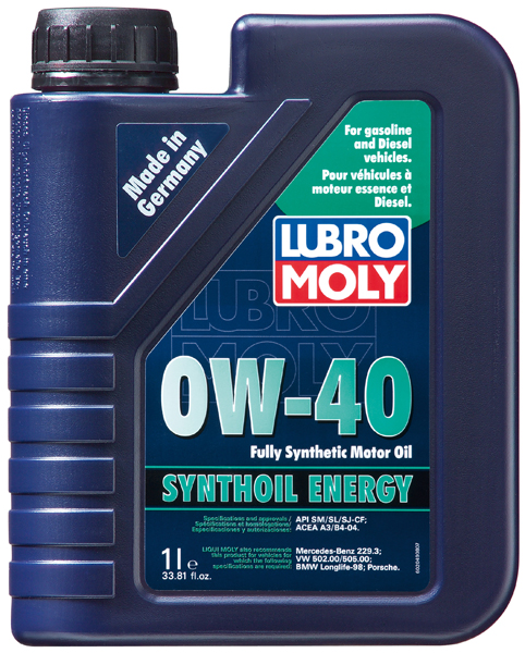 Lubro-Moly Synthoil Energy 0W-40 Motor Oil