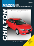 Mazda 3 Chilton Repair Manual (2004-2011)