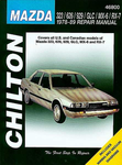 Mazda 323, 626, 929, GLC, MX-6 & RX-7 Chilton Repair Manual (1978-1989)
