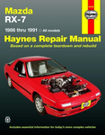 Mazda RX-7 Haynes Repair Manual (1986 - 1991)