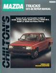 Mazda Trucks (1972-86) Chilton Manual