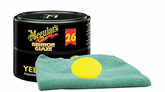 Meguiar's Professional Hi-Tech Yellow Paste Wax (11 oz.), Foam Pad & Microfiber Cloth Kit