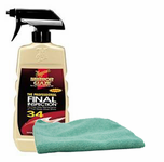 Meguiars Professional Final Inspection Detailer (16 oz.), Microfiber Cloth Kit