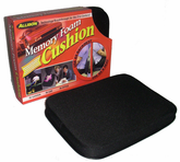 Memory Foam All Purpose Black Seat Cushion