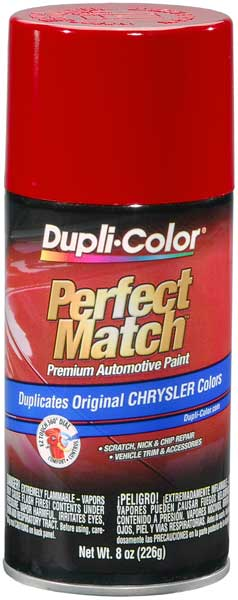 Mercedes-Benz Poppy Red/Flame Red Auto Spray Paint - PR4 2004
