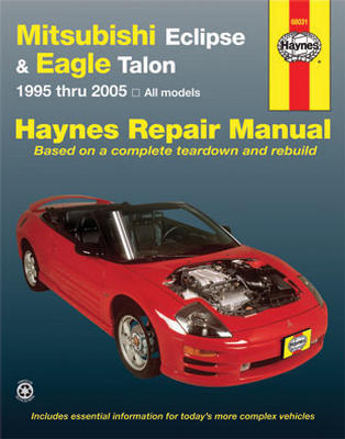 Mitsubishi Eclipse Plymouth Laser & Eagle Talon Haynes Repair Manual ...