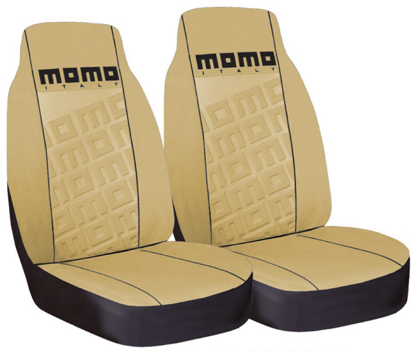 Momo Front High-Back Seat Covers Pair