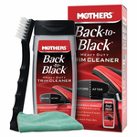 Mothers Back-To-Black Heavy Duty Trim Cleaner Kit & Microfiber Cloth Kit