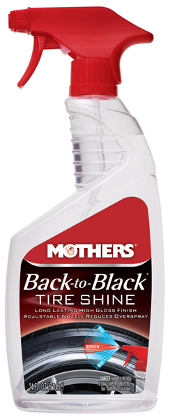 Mothers Back-To-Black Tire Shine 24 oz.