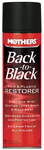 Mothers Back-To-Black Trim & Plastic Restorer Aerosol (10 oz)