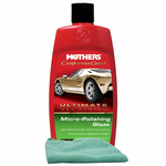 Mothers California Gold® Micro-Polishing Glaze (16 oz) & Microfiber Cloth Kit