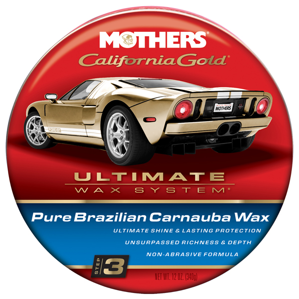 Mothers California Gold Pure Brazilian Carnauba Wax 12 oz