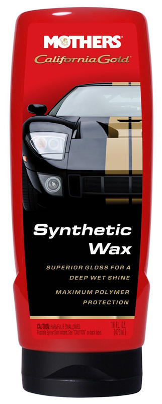 Mothers California Gold Synthetic Liquid Wax 16 oz