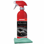 Mothers Reflections Advanced Spray Wax & Microfiber Cloth Kit