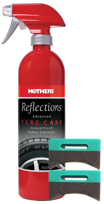 Mothers Reflections Advanced Tire Care 24 oz & Applicator Pads Kit