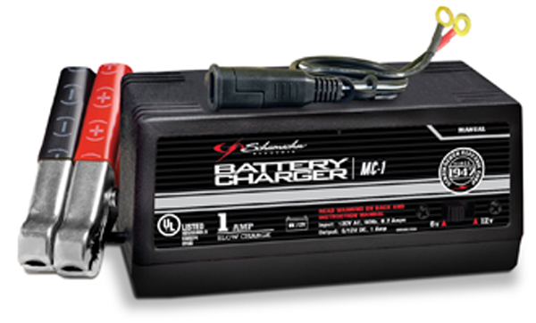 Schumacher Motorcycle Battery Charger 1 AMP