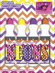 Neon Color Window Markerz, (Pack of 4)
