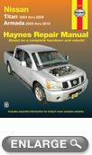 Nissan Titan & Armada Haynes Repair Manual (2004-2010)