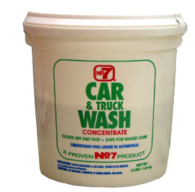 No. 7 Concentrated Car Wash Powder 4 lbs.