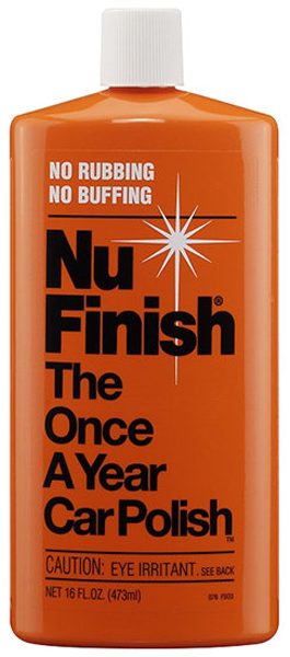 Nu Finish Once-A-Year Car Polish 16 oz
