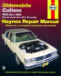 Oldsmobile Cutlass Haynes Repair Manual (1974 - 1988)