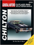 Oldsmobile Cutlass RWD Chilton Repair Manual (1970-1987)