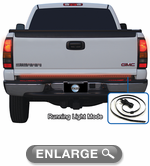 "Pacer 49"" Multi-Functional 3 Color Flexible Tailgate Light Bar"