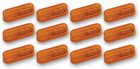 Pacer Auxiliary Amber Running Lights Kit (12 Lights)