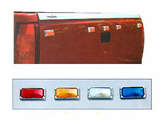 Pacer Dualie Style Tailgate Running Lights Kit (5 Lights)