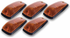 Pacer GM Style Amber Five Cab Roof Running Lights Kit (1988-2002)
