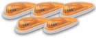 Pacer Teardrop Style Amber Five Cab Roof Running Lights Kit
