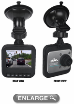 "Peak 2.4"" LCD Dash Mounted Video Recording Camera"