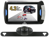 "Peak 4.3"" LCD Full Color Wireless Back-Up Camera System"