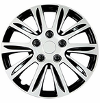 Pilot Automotive Silver Label Premier Wheel Cover (Set of 4)