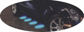 Pilot Blue LED Step Lights (Set of 4)