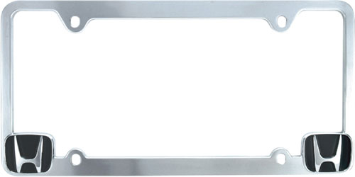 Pilot Chrome Honda License Plate Frame